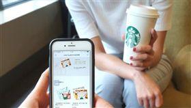 星巴克,LINE Pay,咖啡,買一送一。(圖/業者提供)
