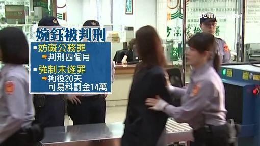 李婉鈺酒後襲警 遭判4個月20天不能緩刑