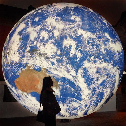 蓋亞,Gaia,地球,氣球,NASA,Discovery,新竹市政府(翻攝自曾玄玄IG xxzyxxzy)