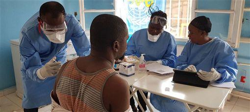 疫情,伊波拉,病毒,擴散,世衛組織(圖/翻攝自Noticias ONU推特)