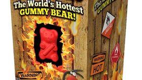 世界最辣,小熊軟糖,噴火糖果公司,辣椒,墨西哥。(圖/翻攝自Flamethrower Candy Company)