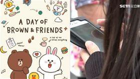 Line,主題,熊大兔兔,永久免費,安卓,手機(圖/翻攝自Line主題小鋪;資料照)