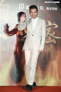 《灼人秘密》首映會,導演趙德胤。(記者林士傑/攝影)