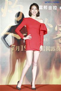 《灼人秘密》首映會,夏于喬。(記者林士傑/攝影)