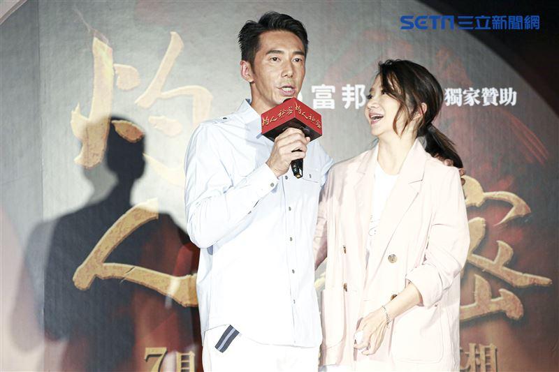 《灼人秘密》首映會,李李仁與陶晶瑩。(記者林士傑/攝影)