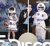 林宥嘉化身登月大使出席discovery《登月50周年鉅獻》。(記者林士傑/攝影)