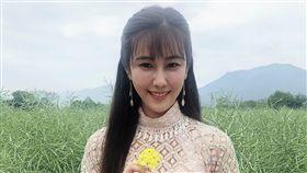 黃心娣覺得女生穿旗袍很有女人味 。(圖/周子娛樂提供)