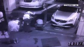 A嬰摔停車坑2400.