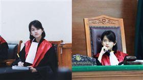 印尼,正妹,法官,檢察官,學歷(圖/翻攝自IG leanna.leonardo)