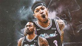 NBA/組三巨頭!熱火盯上巫師雙槍 NBA,邁阿密熱火,華盛頓巫師,Bradley Beal,John Wall