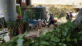 台北市,施工,工地,工人,土石,壓傷