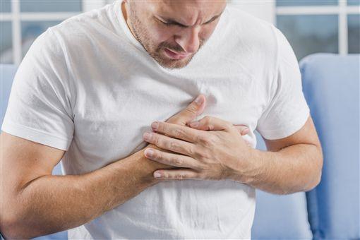 心臟病,心律不整,心痛,胸悶,胸痛(圖/翻攝自freepik)