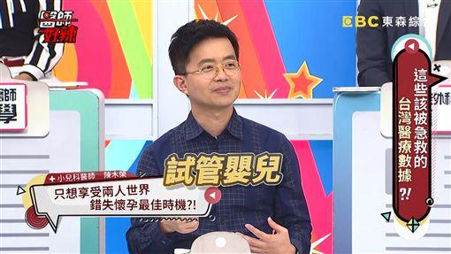 小兒科醫師,陳木榮,醫師好辣。翻攝Youtube