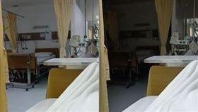 泰國,病房,撞鬼,靈異現象。(圖/翻攝自Nattaka Suwannachat臉書)