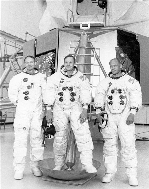 阿波羅11號,週年,登月,太空人,艾德林(圖/翻攝自Buzz Aldrin推特)