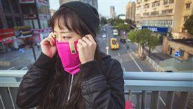 奈米纖維防霾脖圍,抗空污,通勤族,PM 2.5
