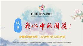 中國「投票」選國花!牡丹聲勢強 網友卻愛韭菜都投它(圖/翻攝自中國花協官網)