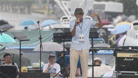 反親中媒體遊行  林榮基到場聲援「拒絕紅色媒體、守護台灣民主」活動23日下午在總統府前凱達格蘭大道舉行,香港銅鑼灣書店創辦人林榮基也到場聲援。中央社記者徐肇昌攝  108年6月23日