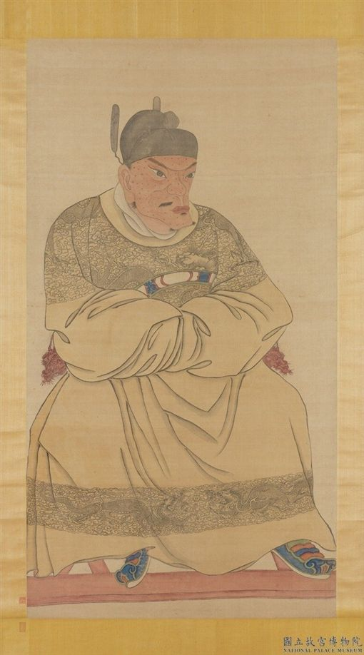 台北,故宮,畫展,朱元璋,明太祖