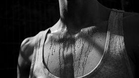 流汗,出汗,排汗,胸口,胸肌,背心,吊嘎(圖/翻攝自Pixabay)