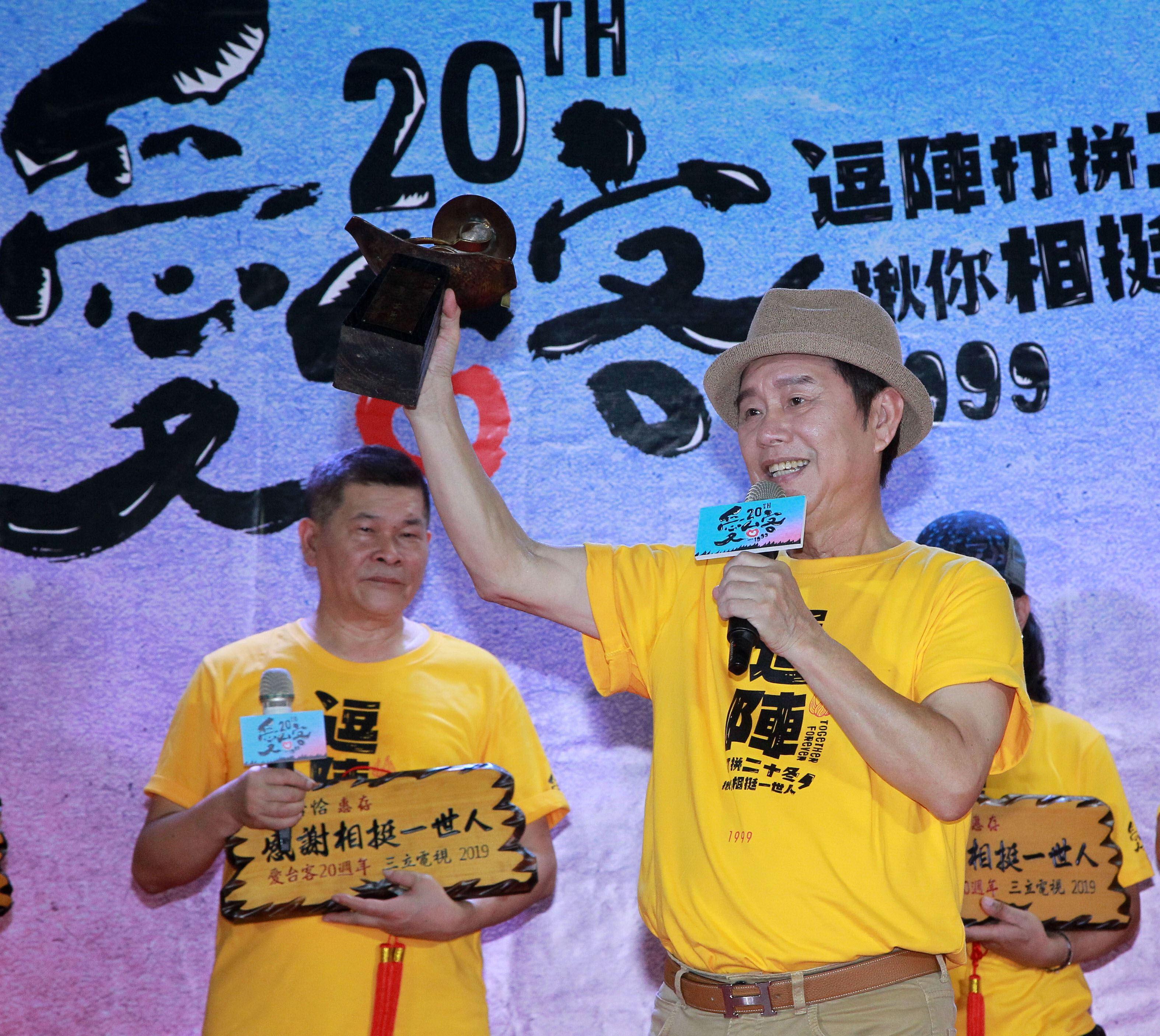 黃西田是最長壽的主持人19年。(記者邱榮吉/攝影)