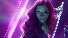 葛摩菈 柔伊莎達娜 Zoe Saldana /翻攝自Avengers臉書