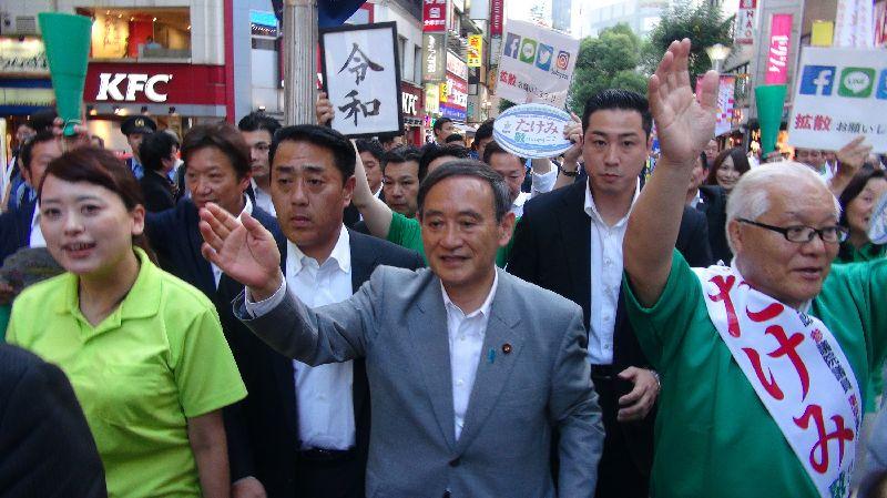 菅義偉:中國抗議日政府祝賀蔡總統連任