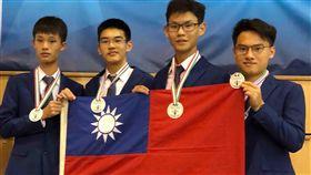 國際生物奧林匹亞競賽 台生獲3金1銀2019年國際生物奧林匹亞競賽在匈牙利舉行,台灣學生共獲得3金1銀,國際排名第4。(教育部提供)中央社記者許秩維傳真 108年7月21日
