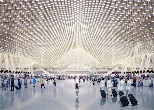 桃機第三航廈設計圖 圖/桃機公司提供