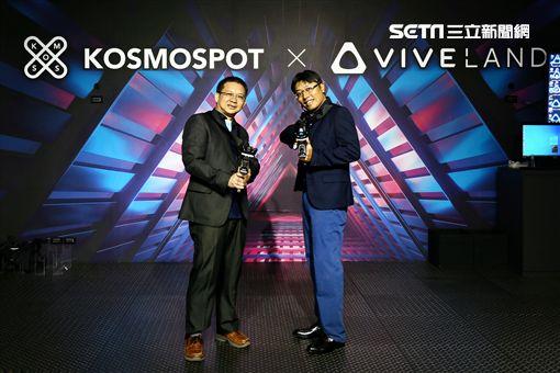 HTC,宏達電,KOSMOSPOT X VIVELAND,VR,電競,三創生活園區,VIVELAND,8D-ZONE