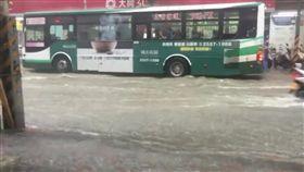 新北市,五股,積水,大雨,降雨