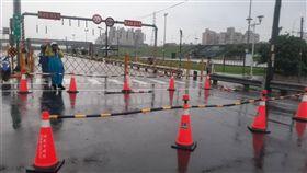 新北市,五股,積水,疏洪道,封閉
