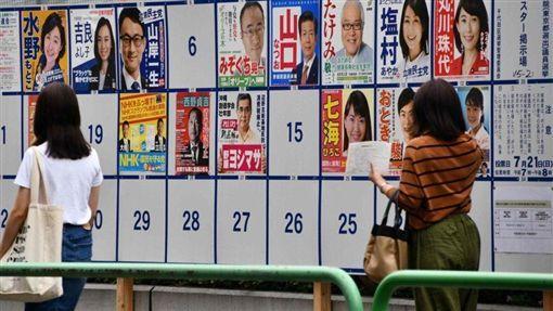 日本,參院選舉,投票率