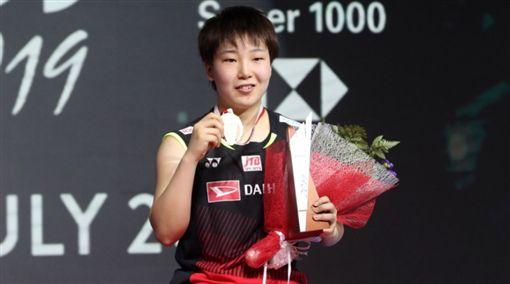 ▲山口茜在印尼公開賽摘冠。(圖/取自BWF世界羽聯官網)