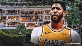 NBA/奢華!一眉豪宅月租155萬 NBA,洛杉磯湖人,Anthony Davis,豪宅 翻攝自推特CluthcPoints