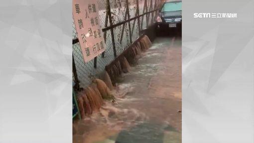719大雨淹受災!鳳山忠孝里泡水怨嘸人理