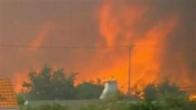 葡萄牙,野火,民宅,自力救濟,保護家園