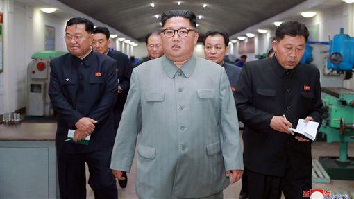 北韓領導人金正恩 圖/美聯社/達志影像