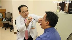 安南醫院,耳鼻喉科,邱怡喬,口腔黏膜篩檢,舌癌,鱗狀細胞癌,末期,癌症