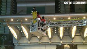 台北101大樓驚傳2工人墜樓 1人慘死