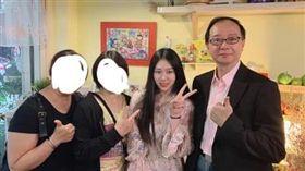 韓粉,霸凌,煎餅店,高雄,王瑞德(圖/翻攝自蔡女臉書)