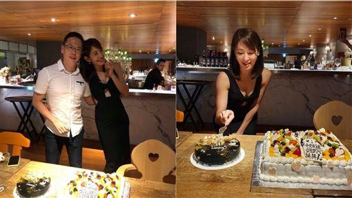 賈永婕45歲生日趴。圖/翻攝自賈永婕臉書