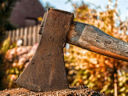 斧頭(圖/翻攝自pixabay)