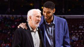 NBA/傳奇歸來!鄧肯回馬刺任助教 NBA,聖安東尼奧馬刺,Gregg Popovich,Tim Duncan 翻攝自推特