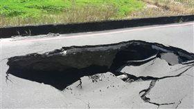 宜蘭市,中山路,塌陷,修復,通車