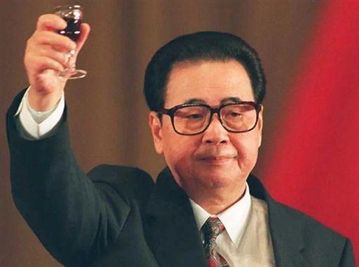 中國國務院前總理李鵬(圖/翻攝自微博)