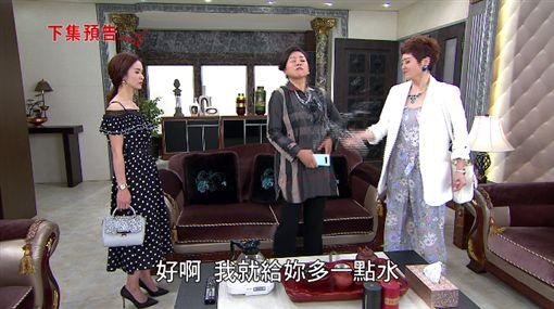 炮仔聲,江宏恩,陳小菁,潑水,八點檔,親家母