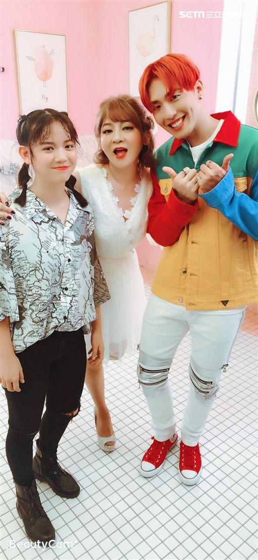 黃昺翔,王彩樺,女兒,庭庭,出道/無限美好文創娛樂提供