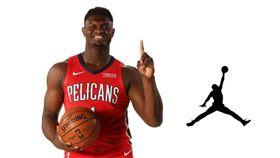 NBA/達成鞋議!威廉森簽約喬丹牌 NBA,紐奧良鵜鶘,選秀,狀元,Zion Williamson,喬丹 翻攝自推特