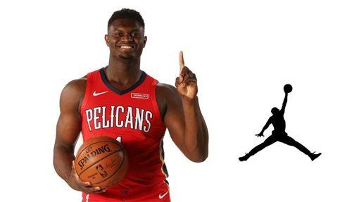 NBA/達成鞋議!威廉森簽約喬丹牌NBA,紐奧良鵜鶘,選秀,狀元,Zion Williamson,喬丹翻攝自推特